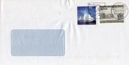 Auslands - Brief  Von Briefzentrum 21 Mit Seltsamer Mischfrankatur € + Schilling 16,- + 8,-  WIPA 1981 Schwarzdruck 2015 - Sammlungen (im Alben)