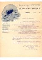 Deux Informations De La Socièté Nautique De Génève, Section De L' Avoron, 1923 Et 1925 - Mitteilung