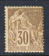 Colonie Francesi, Emissioni Generali 1881 N. 55 C. 30 Bruno MH - Alphee Dubois