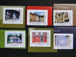 Collector. Troyes, Maison Pfister, Maison Traditionnelle Colmar, Poste Weyersheim, Maison Landaise [architecture Houses] - Collectors