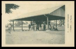 FARIM - FEIRAS E MERCADOS - Le Marché ( Ed. D. A. Languet) Carte Postale - Guinea-Bissau
