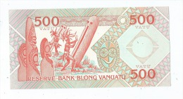 1 Billet De 500 -  Vanuatu -  (2 Scans)- - Vanuatu