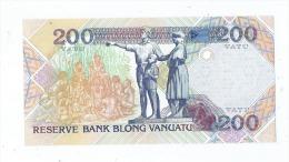 1 Billet De 200 -  Vanuatu -  (2 Scans)- - Vanuatu