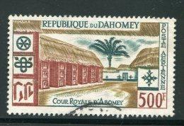 Dahomey Poste Aérienne N°19 Oblitéré - Benin – Dahomey (1960-...)