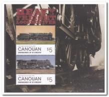 Canouan 2014, Postfris MNH, Trains - St.-Vincent En De Grenadines