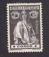 Portuguese Congo, Scott #100, Mint Hinged, Ceres, Issued 1914 - Portuguese Congo