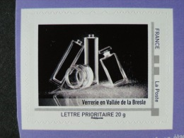 2010_06. Collector Haute Normandie 2010. Verrerie Vallée De La Bresle. Adhésif. Neuf Avec Bord [verre, Glass, Industrie] - Collectors