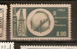 Brazil * &  X Aniversário Da Petrobrás 1963 (742) - Fabbriche E Imprese