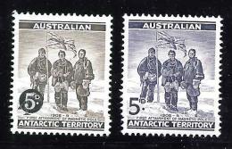 Australia Antarctic Terr. Scott    L1 & L6   Mint NH VF   CV 2.15 - Unused Stamps