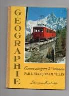 """COURS MOYEN 2  ANNEE) 1962 SUPERBE LIVRE DE GEOGRAPHIE SCOLAIRE -95 PAGES -TRES DETAILLE -SUPERBES PHOTOS """" 95 PAGES TBE - Geografía"""