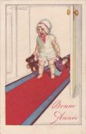 LAURSE CPA ILLUSTRATION ILLUSTRATEUR MAUZAN ENFANT BEBE BABY POUPEE DOLL OURS JOUET TOY A VOIR BEAU VISUEL - Mauzan, L.A.