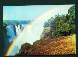 ZIMBABWE  -  Victoria Falls  Used Postcard As Scans - Zimbabwe