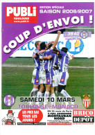 Programme Football 2006 2007 Toulouse FC C AS Monaco FC - Books