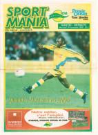 Programme Football 2000 2001 Nantes C Monaco - Books