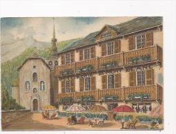 CPA BARRE DAYEZ , HOTELLERIE DU MONT BLANC , CORDON Par Sallanches , BD 2307 A - Barday