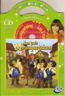 Livre-CD. Chantal GOYA Raconte LES TROIS MOUSQUETAIRES - 1 Grand Conte + 1 Quizz + 1 Coloriage - Niños