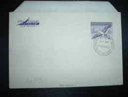 AEROGRAMME OISEAU 1,20 OBL. 24-5-1969 PRAHA XII KONGRES - Postal Stationery