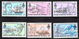 British Antarctic Terr. Scott    76-81  Mint NH VF   (  CV 2.70 - British Antarctic Territory  (BAT)