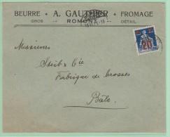 Cl.Ov4. CL-ouverte Illustrée: Beurre. Fromages.  Romont  18.6.21 - Suisse
