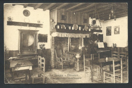 CPA - DIEGEM - Le Donjon à DIEGHEM - Une Des Salles Vieux Style Flamand - Pension De Famille   // - Machelen