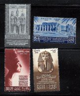 Egypt Scott     B9-12 MINT NH CV  9.00 - Used Stamps