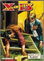 X 13 AGENT SECRET N°412 MENSUEL 4ème Trimestre 1983 Edition IMPERIA - Petit Format