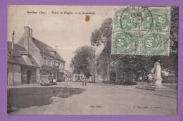 18 MORLAC Place De L'église Et Monument - France