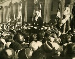 Maroc Casablanca Transfert Du Corps Du Marechal Lyautey Ancienne Photo 1935 - Africa