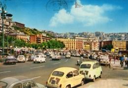Napoli - Mergellina - Gli Chalets (animata Con Auto) - Napoli