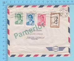 Casablanca ( Mecanical Cancel,  Cover Cachet Cassablanca Ppal 1957  ) 2 Scans - Maroc (1956-...)