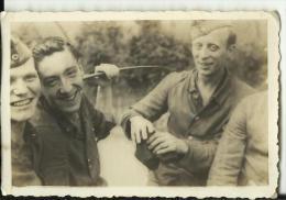 A430  --  DEUTSCHLAND  -  WW2  --  ORIGINAL PHOTO   --  SOLDATEN, WILLY LUHDE, LUTGENTHEY,  WEHRMACHT - 1939-45