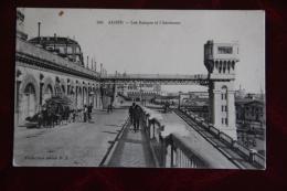 ALGER - Les Rampes Et L'ascenseur - Alger