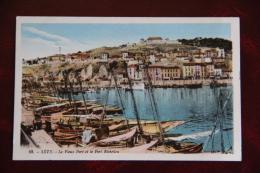 SETE - Le Vieux Port Et Le Fort RICHELIEU - Sete (Cette)