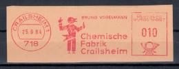 Germany Deutschland 1964 Chemische Fabrik Crailsheim, Chemistry - Germany