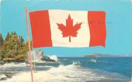 Le Nouveau Drapeau Canadien, Approuvé Par La Chambre Des Communes Le 15 Décembre 1964 - Non Classés