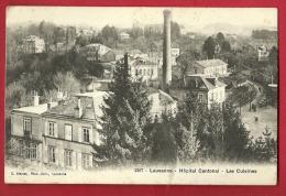 PAH-21 Lausanne  Hopital Cantonal, Les Cuisines.  Cachet 1921 - VD Vaud