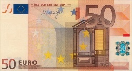 EURO NETHERLANDS DRAGHI 50 P R044 UNC - EURO