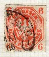PRUSSE N° 16 OBLITERE - Prussia