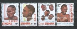 Ethiopia 2005 Surma Nationalities Hairstyles.MNH - Ethiopia