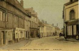 27-Tillières-sur-Avre- Maison  Du XVIIè Siècle-Couleur Toilée-TBE-1908 - Tillières-sur-Avre