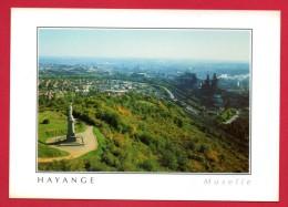 57. Hayange. La Vierge De Hayange Et Les Hauts-Fourneaux - Hayange