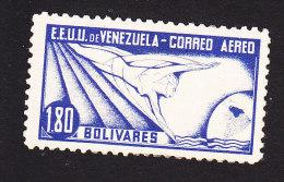 Venezuela, Scott #C56, Mint Hinged, Allegory Of Flight, Issued 1937 - Venezuela