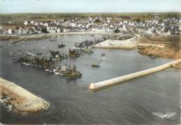 """/ CPSM FRANCE 29 """"Lesconil, Le Port Et Vue Générale"""" - Lesconil"""