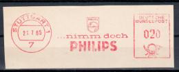 Germany Deutschland 1965 PHILIPS, TV Radio Electronics, Stuttgart - Sin Clasificación