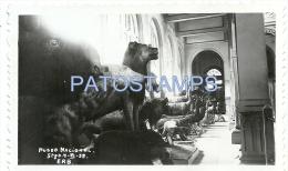 25959 CHILE SANTIAGO MUSEO NACIONAL INTERIOR YEAR 1939 11.5 X 7 CM PHOTO NO POSTAL POSTCARD - Vieux Papiers