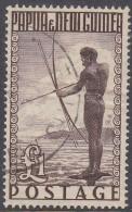 PAPUA NEW GUINEA, 1952  £1  BROWN USED STAMP - Papua New Guinea