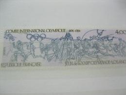 France-Olympic 1984-Los Angeles Olympics Sc# 1931 - Summer 1984: Los Angeles