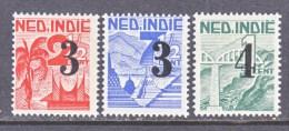 NETHERLAND  INDIES    268-70   * - Netherlands Indies