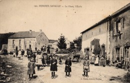 58 - OUROUX SAVAULT - La Place, L´Ecole - France