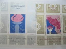 Yugoslavia -Olympic 1984 Sarajevo Olympics SC# 1672-73 - Summer 1984: Los Angeles